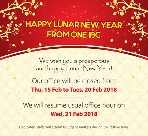 Happy Lunar New Year 2018 - Year of the Dog & Festive